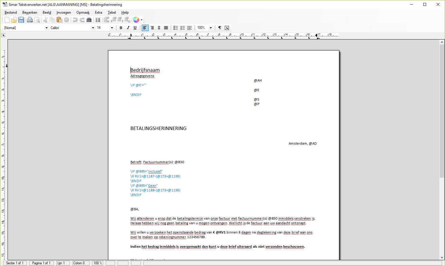Tekstverwerker
